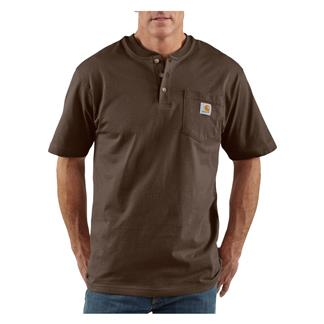 Carhartt Workwear Pocket Henley Dark Brown
