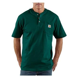 Carhartt Workwear Pocket Henley Hunter Green