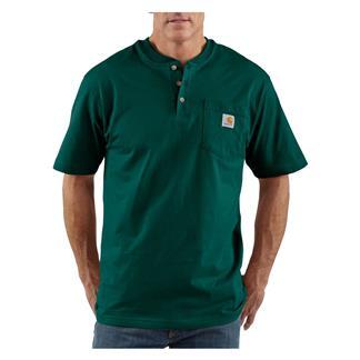Carhartt Workwear Pocket Henley Hunter Green