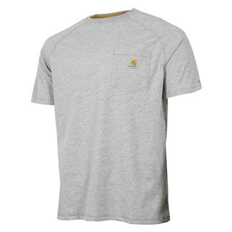 Carhartt Force Delmont T-Shirt Heather Gray