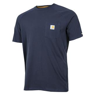 Carhartt Force Delmont T-Shirt Navy