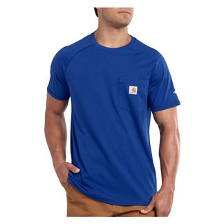 Carhartt Force Delmont T-Shirt Nautical Blue