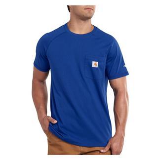 Carhartt Force Delmont T-Shirt Nautical Blue