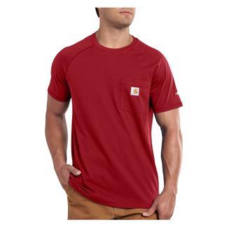 Carhartt Force Delmont T-Shirt Crimson
