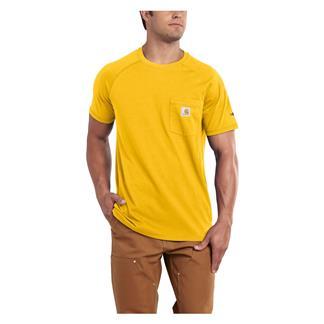 Carhartt Force Delmont T-Shirt Mustard Yellow