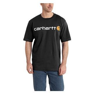 Carhartt Logo T-Shirt Black
