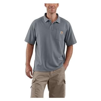 Carhartt Contractor's Work Polo Steel Blue