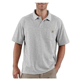 Carhartt Contractor's Work Polo Heather Gray