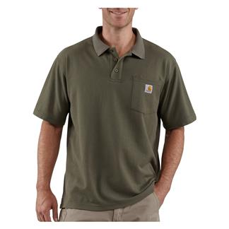 Carhartt Contractor's Work Polo Moss