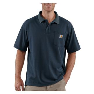 Carhartt Contractor's Work Polo Navy