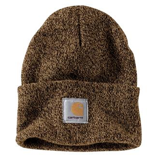 Carhartt Acrylic Watch Hat Dark Brown / Sandstone