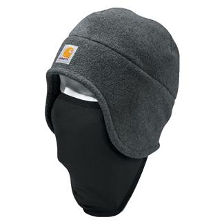 Carhartt 2 In 1 Fleece Headwear Charcoal Heather