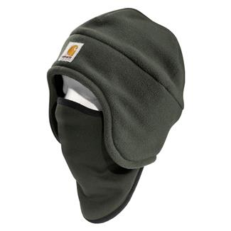 Carhartt 2 In 1 Fleece Headwear Moss