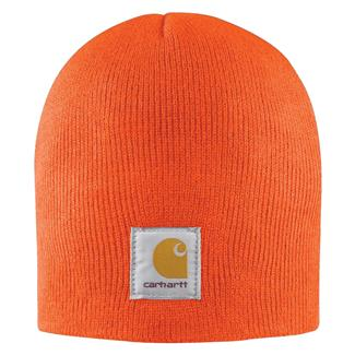 Carhartt Acrylic Knit Hat Brite Orange