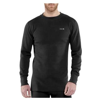 Carhartt Base Force Cotton Super-Cold Weather Top Black