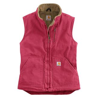 Carhartt Sandstone Mock Neck Vest Crab Apple