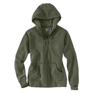 Carhartt Clarksburg Zip Hoodie Grape Leaf Heather