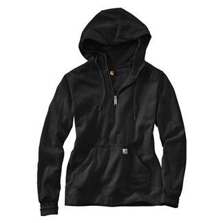 Carhartt Clarksburg 1/4 Zip Sweatshirt Black Heather