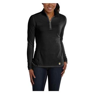 Carhartt Force 1/4 Zip Shirt Black
