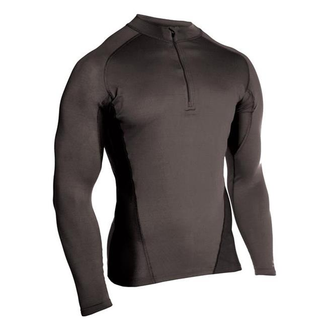 Blackhawk Engineered Fit LS 1/4 Zip Shirts Black