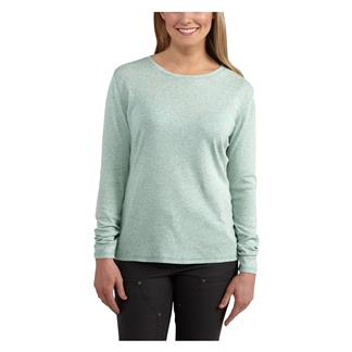 Carhartt Long Sleeve Calumet T-Shirt Aqua Gray Heather