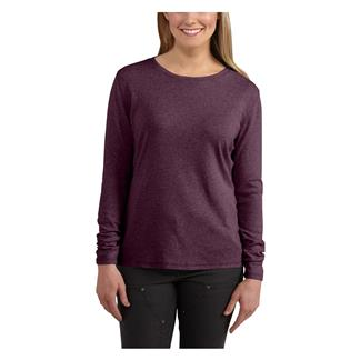Carhartt Long Sleeve Calumet T-Shirt Potent Purple Heather