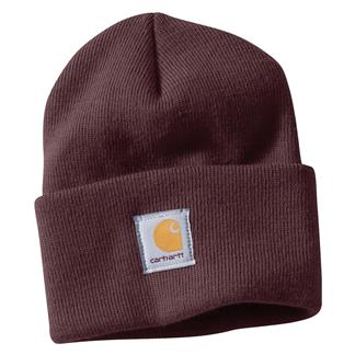 Carhartt Acrylic Watch Hat Deep Wine