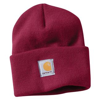 Carhartt Acrylic Watch Hat Raspberry