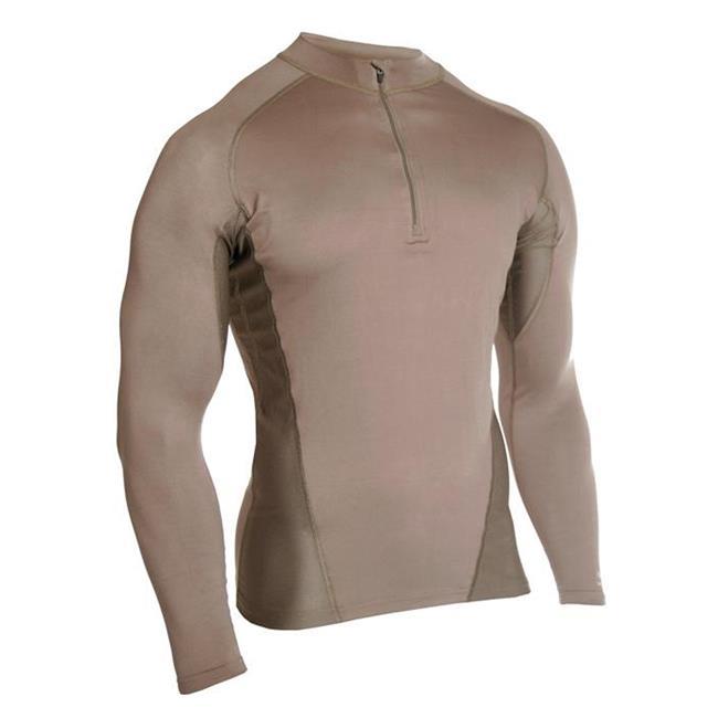 Blackhawk Engineered Fit LS 1/4 Zip Shirts Foliage Green