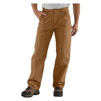Carhartt Washed Duck Work Dungaree Pants Carhartt Brown