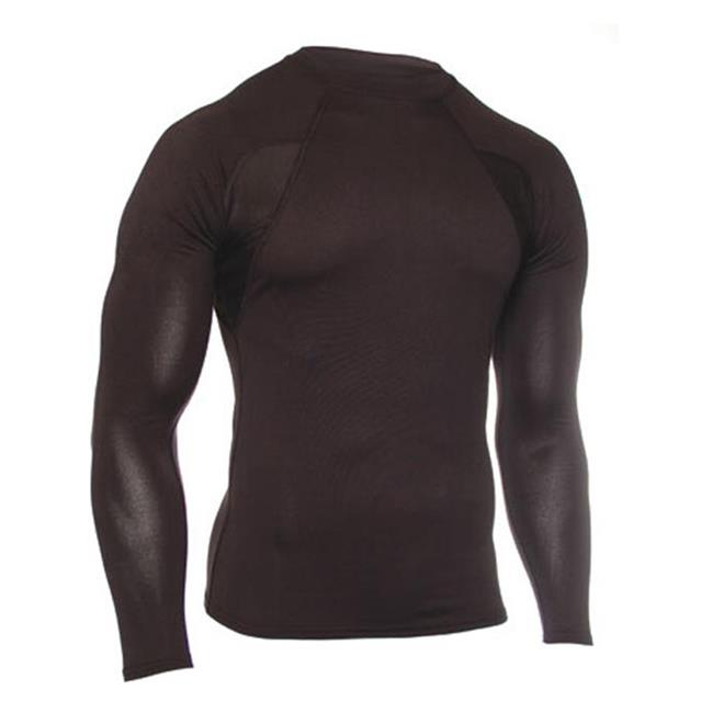 Blackhawk Engineered Fit LS Mock Collar Black