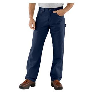Carhartt Canvas Carpenter Jeans Navy