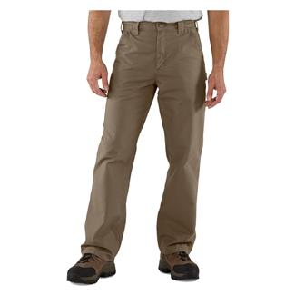 Carhartt Canvas Work Dungaree Pants Light Brown