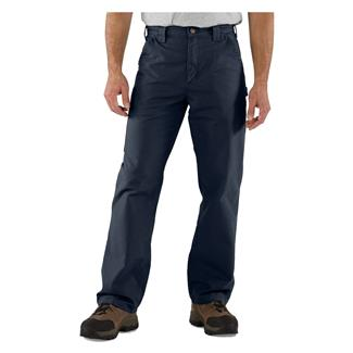 Carhartt Canvas Work Dungaree Pants Navy
