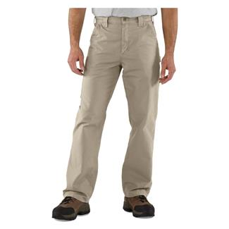 Carhartt Canvas Work Dungaree Pants Tan