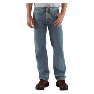 Carhartt Relaxed Fit Straight Leg Jeans Light Vintage Blue