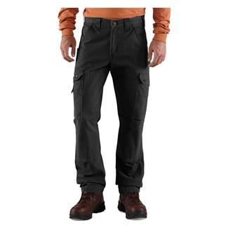 Carhartt Ripstop Cargo Work Pants Black