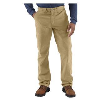 Carhartt Rugged Work Khaki Pants Field Khaki