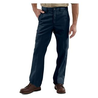 Carhartt Twill Work Pants Navy
