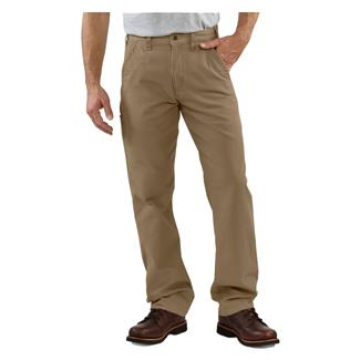 Carhartt Canvas Khaki Pants Golden Khaki