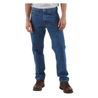 Carhartt Traditional Tapered Leg Jeans Darkstone