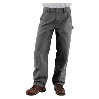 Carhartt Washed Duck Double Front Dungaree Pants Gravel