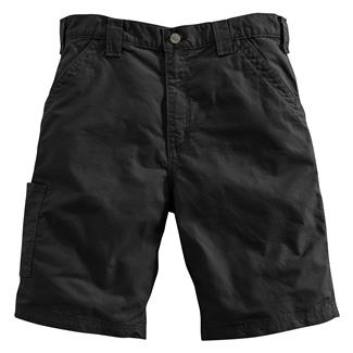 Carhartt Canvas Work Shorts Black