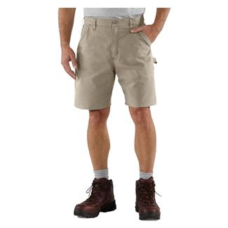 Carhartt Canvas Utility Work Shorts Tan