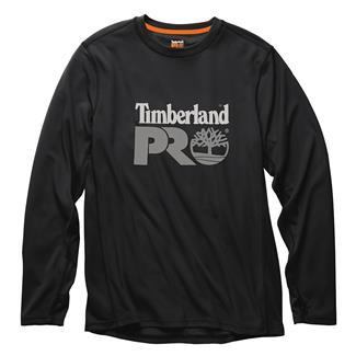 Timberland PRO Wicking Good Long Sleeve Logo T-Shirt Jet Black