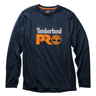 Timberland PRO Wicking Good Long Sleeve Logo T-Shirt Dark Navy