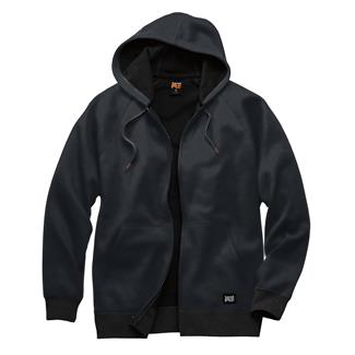 Timberland PRO Downdraft Thermal-Bonded Full Zip Sweatshirt Jet Black