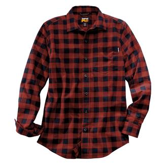 Timberland PRO Flannel Work Shirt Red Plaid