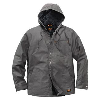 Timberland PRO Insulated Hooded Shirt Jacket Pewter