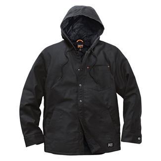 Timberland PRO Insulated Hooded Shirt Jacket Jet Black